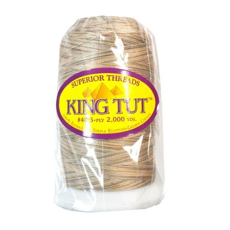 King Tut Cotton Quilting Thread 2000yds Sand Storm King Tut Quilting Thread