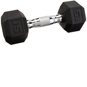 CAP Barbell 15 lb Coated Hex Dumbbell