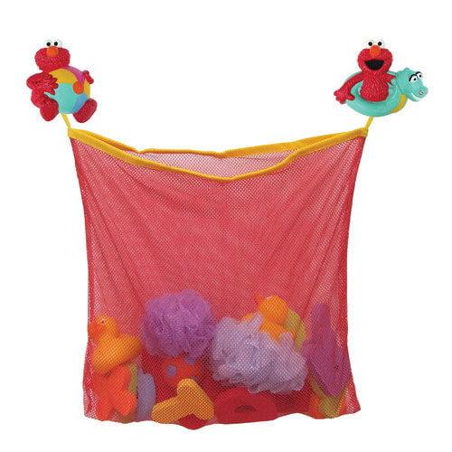 Ginsey Sesame Street Elmo Bath Toy Organizer