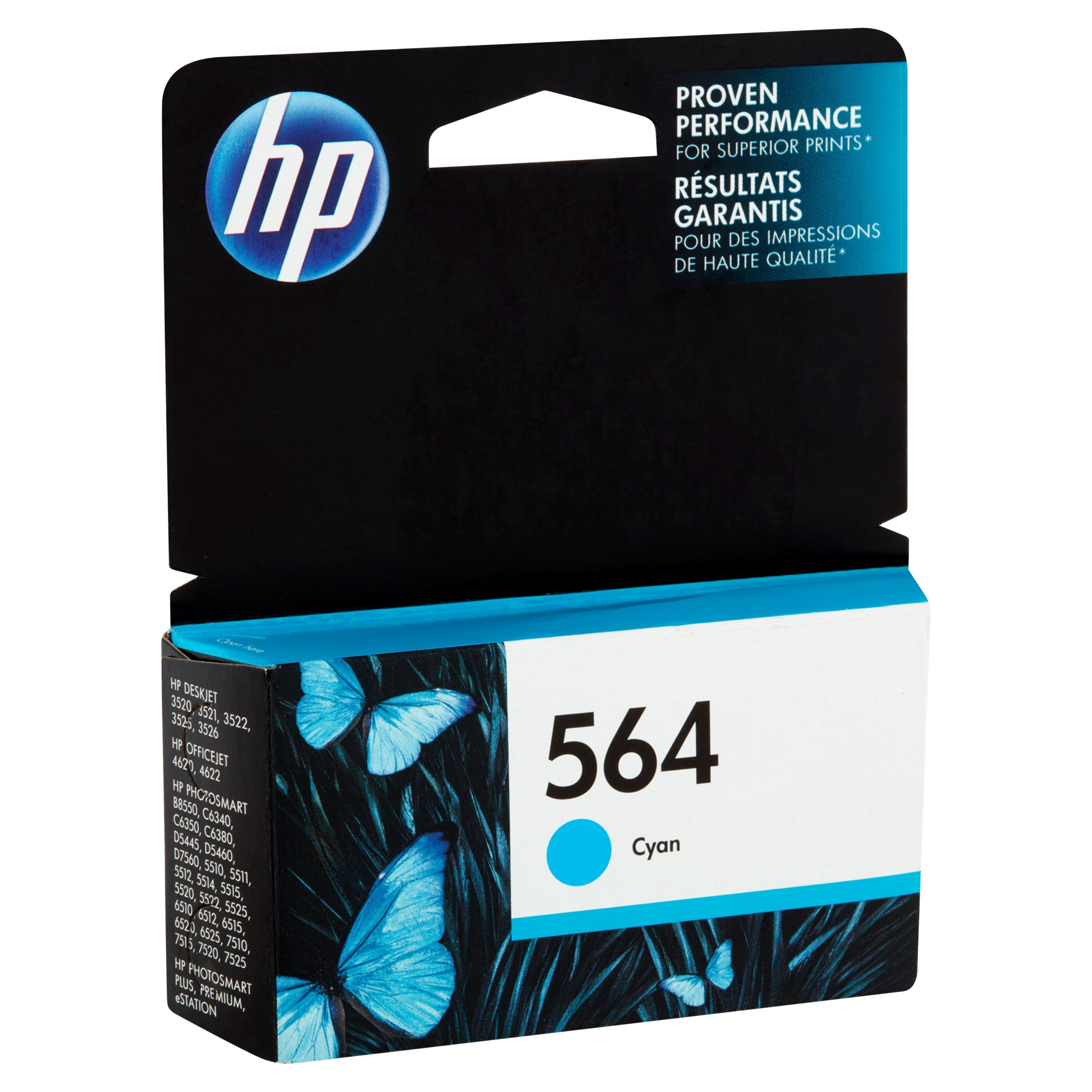 hp 564 cb318wn cyan original ink cartridge walmartcom - Cyan Garden 2016