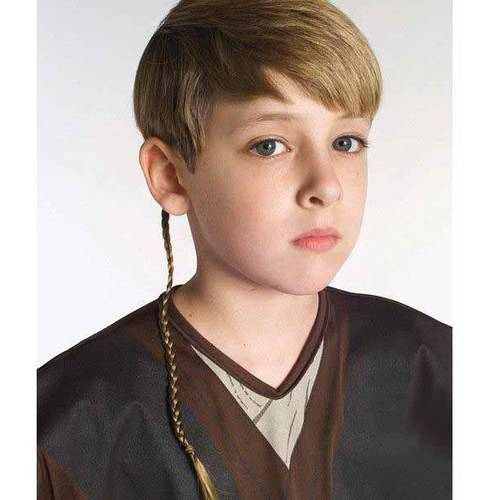 Star Wars Jedi Braid Halloween Costume Accessory