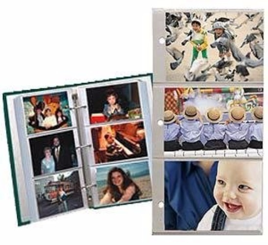 Pioneer RST-6 4x6 Photo Album Refill Pages (10 Pages)