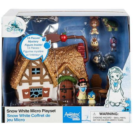 Disney Princess Animators' Collection Snow White Micro Playset (Villain In Snow White)