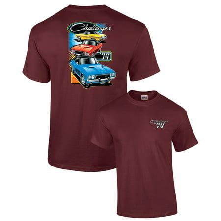 Dodge T-Shirt The 1974 Challenger Trio