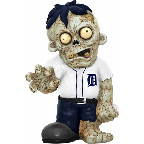 Forever Collectibles MLB Resin Zombie Figurine, Detroit Tigers