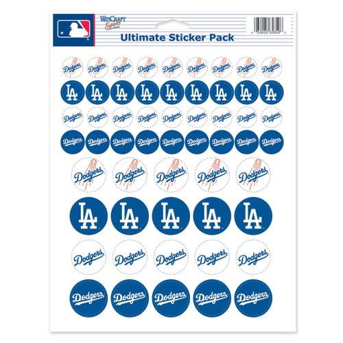 Los Angeles Dodgers 8.5'' x 11'' Sticker Sheet - No Size
