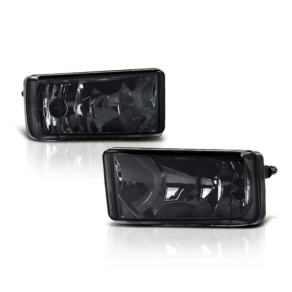 VIPMOTOZ OE-Style Front Fog Light Driving Lamp Assembly For 2007-2013 Chevy Silverado 1500 2500HD 3500HD Avalanche Tahoe Suburban, Driver & Passenger Side
