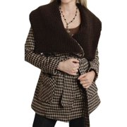 Stetson Western Jacket Womens Plaid Twill Brown 11-098-0597-0678 BR
