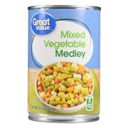Great Value Mixed Vegetable Medley, 14.5 Oz