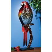 DecoFLAIR Large Parrot Figurine Fan Electric Circulating Fan