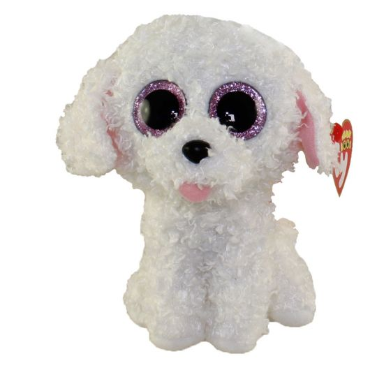 TY Beanie Boo Plush - Pippie the Dog 6""