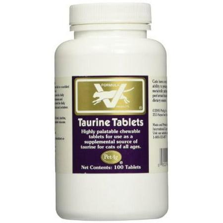Pet Ag Taurine Tablets 250mg 100 Count Walmart Com