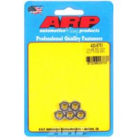 "ARP Hex Nut 1/4-28"" Thread Stainless 5 pc P/N 400-8751"