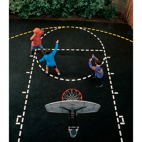 Ursa Major Basketball Court Stencil
