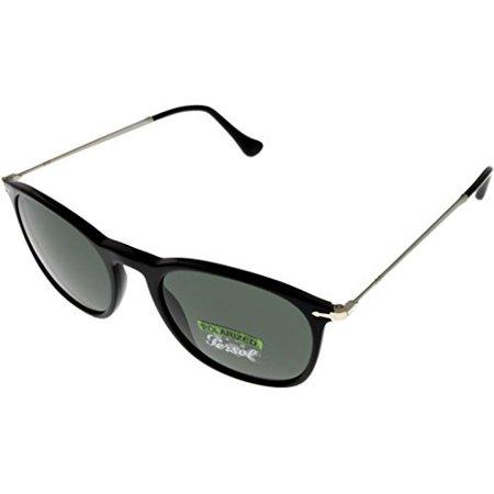 Persol Sunglasses Unisex Grey Polarized PO3124S 95/58 Size: Lens/ Bridge/ Temple: 50_19_140_42.1 Persol Gray Polarized Frame