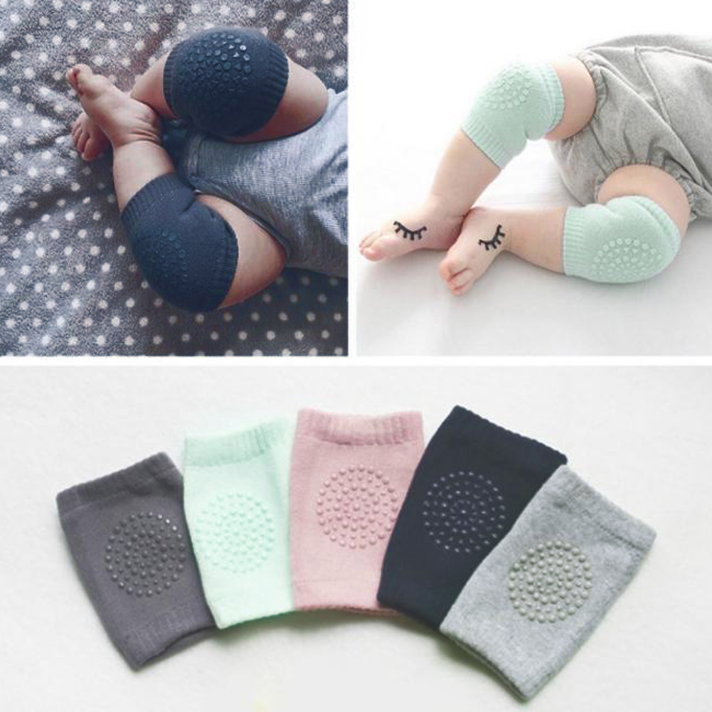 4pcs Cartoon Safety Cotton Baby Knee Pads Crawling Protector Leg Warmers