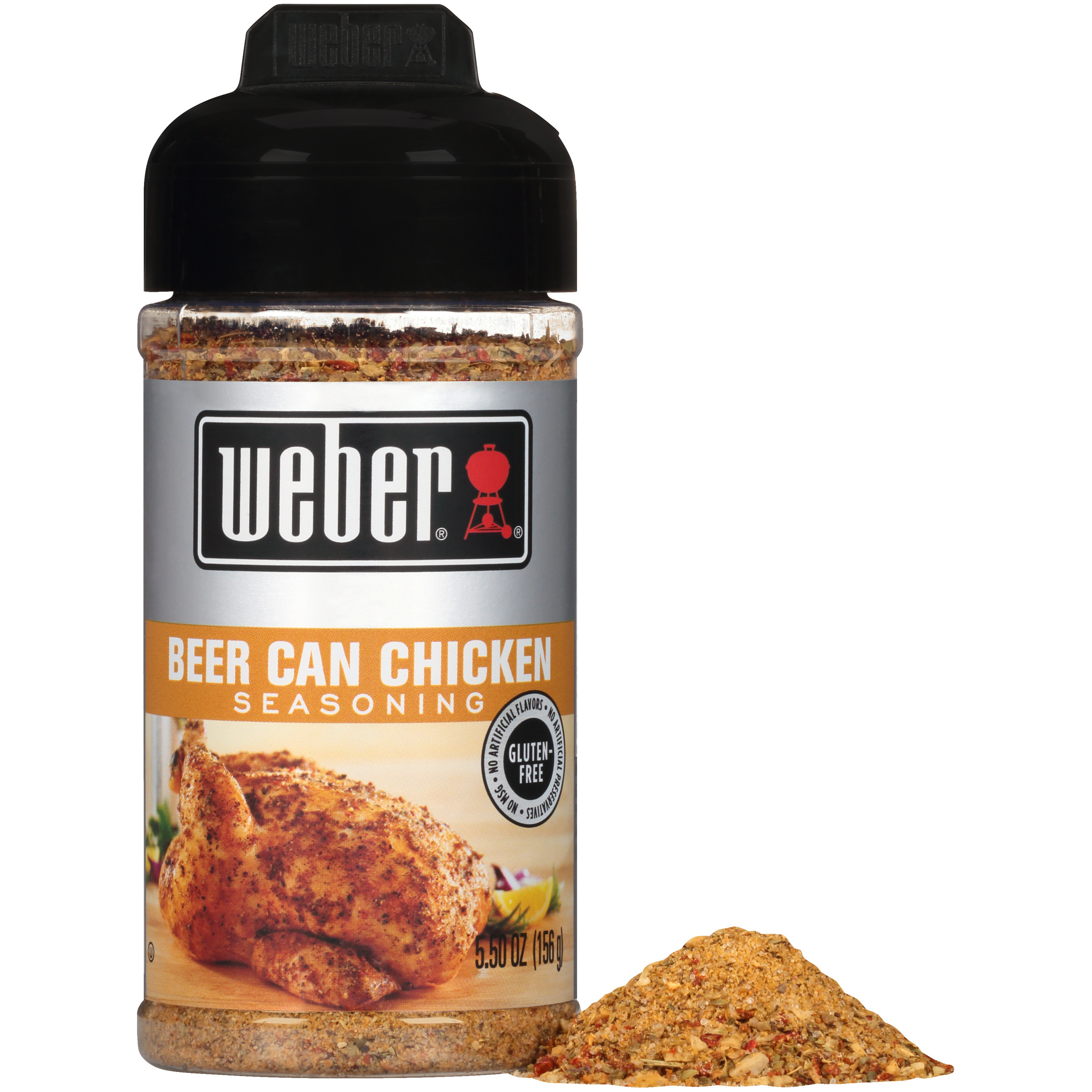 Weber Beer Can Chicken Seasoning 5 5 Oz Shaker Walmart Com Walmart Com