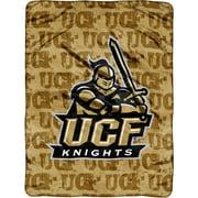 """NCAA Central Florida Golden Knights 46"""" x 60"""" Micro Raschel Throw"""