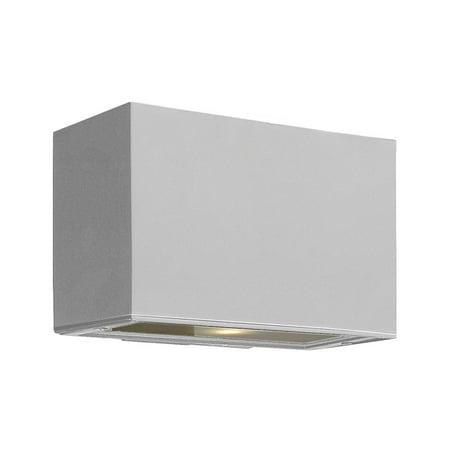 Wall Sconces 1 Light Fixtures With Titanium Finish Extruded Aluminum Material Medium Bulb 9