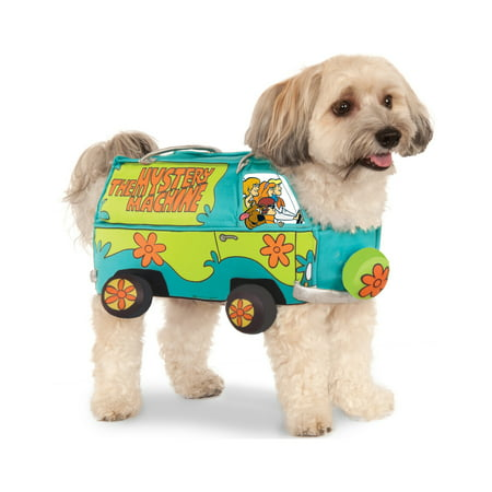 Scooby Doo The Mystery Machine Van Pet Dog Cat Halloween Costume (Dog Football Costumes Halloween)