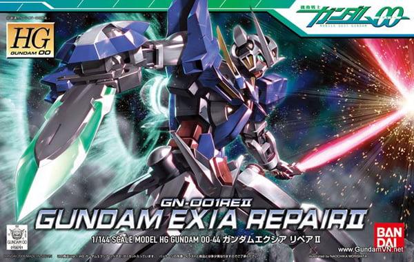 Bandai Hobby Gundam 00 Gundam Exia Repair II HG 1 144 Model Kit by Bandai Hobby