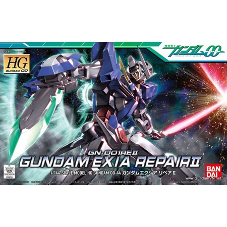 Model Kit Bandai Japan - Bandai Hobby Gundam 00 Gundam Exia Repair II HG 1/144 Model Kit