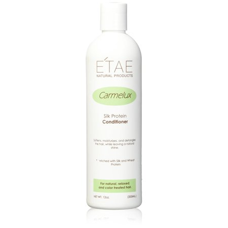 Etae Natural Products Etae Conditioner Carmelux Silk Protein 12oz for Natural, Relaxed, Color Treated Hair (1 item) 1
