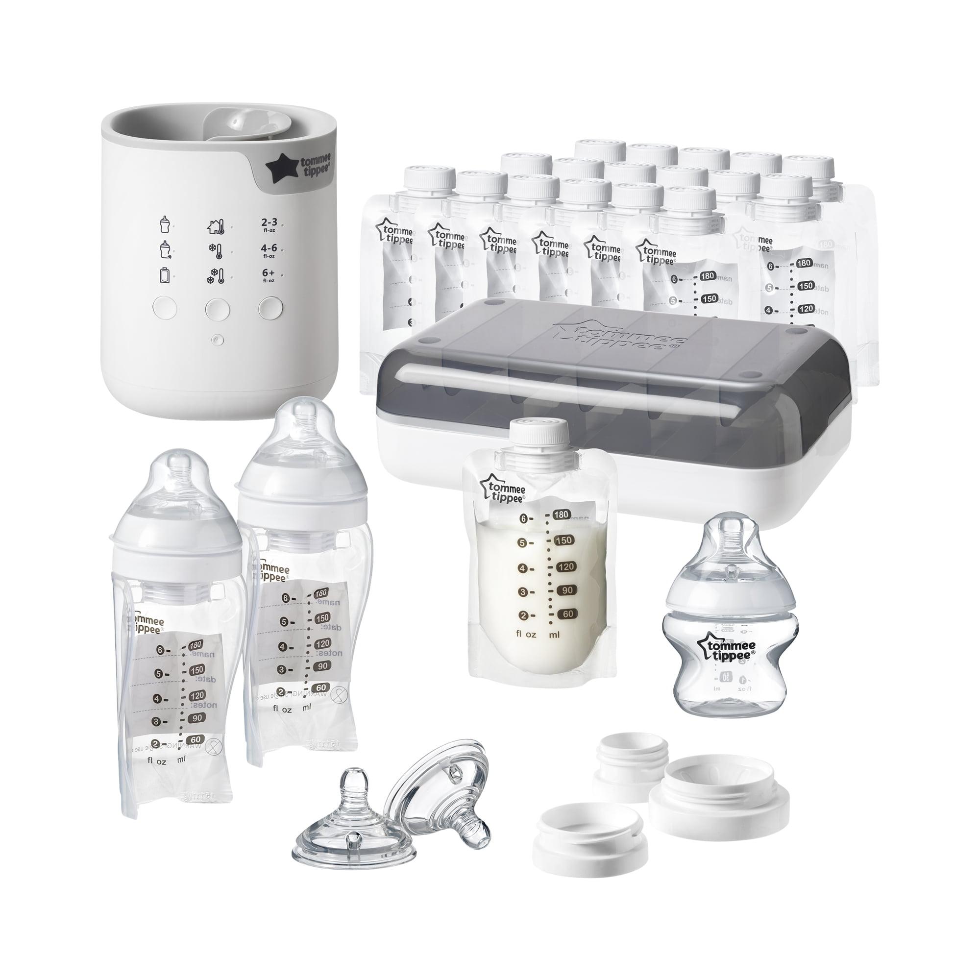 Tommee Tippee Pump & Go Complete Breast Milk Set