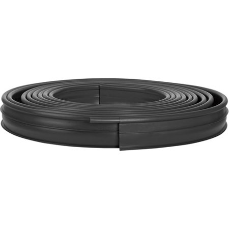 Suncast 60 Ft. Dig-In Professional Grade Lawn Edging, Black, (Professional Lawn Edging)