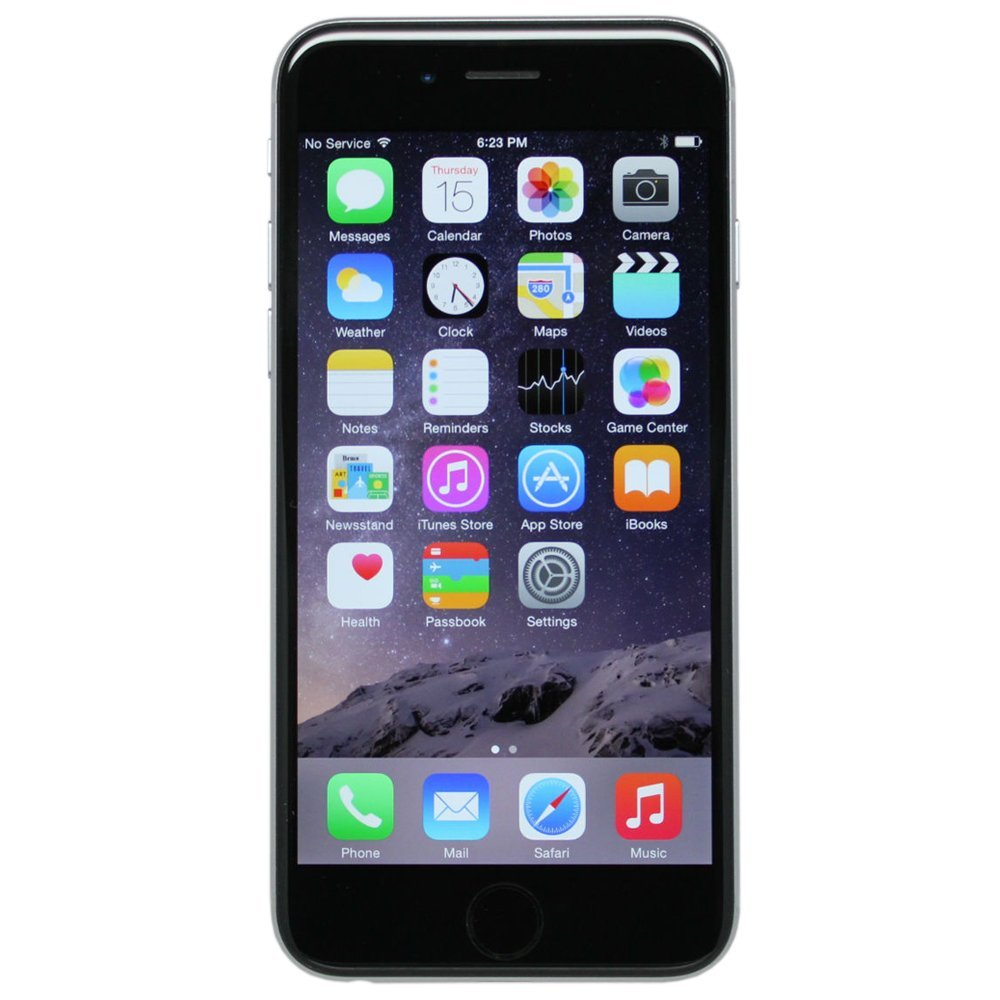 Apple iPhone 6 64GB AT Locked Smartphone- Space Gray (Refurbished)