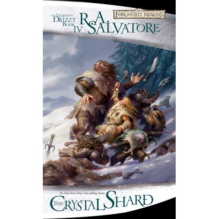 The Crystal Shard : The Legend of Drizzt, Book IV