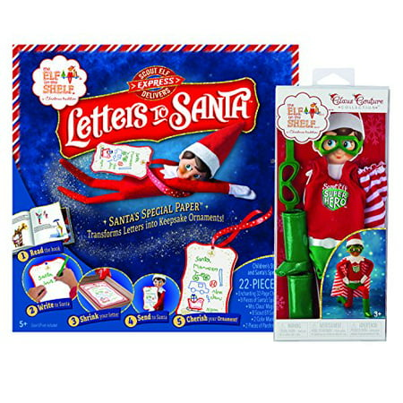Elf on the Shelf(R) Letters to Santa & Superhero Set - Elf On The Shelf Adult