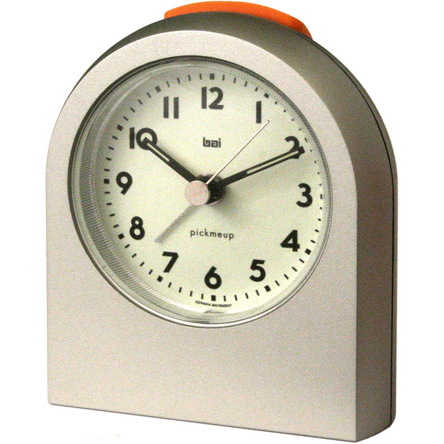 Bai Pick-Me-Up Alarm Clock, Titanium by Generic