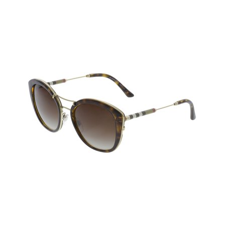 d995dd436f Burberry - Burberry Women s Gradient BE4251Q-300213-53 Brown Cat Eye  Sunglasses - Walmart.com