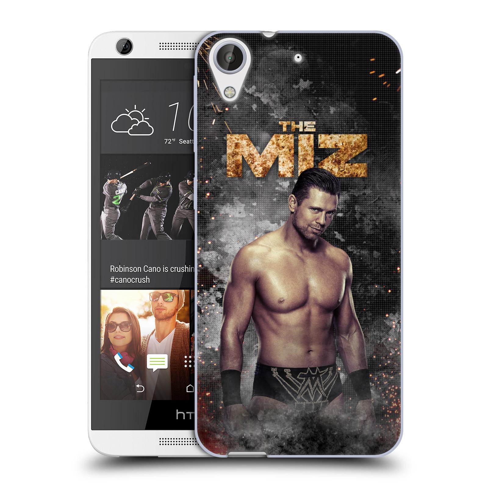 OFFICIAL WWE THE MIZ SOFT GEL CASE FOR HTC PHONES 1