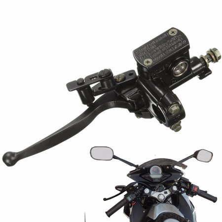 Dirt Bike Levers (Motorcycle Front Left Brake Master Cylinder Lever Aluminum For 50cc 70cc 90cc 110cc 125cc 150cc 200cc 250cc Chinese Pit Dirt Bike ATV Scooter w/ 7/8 22mm Handlebar US )