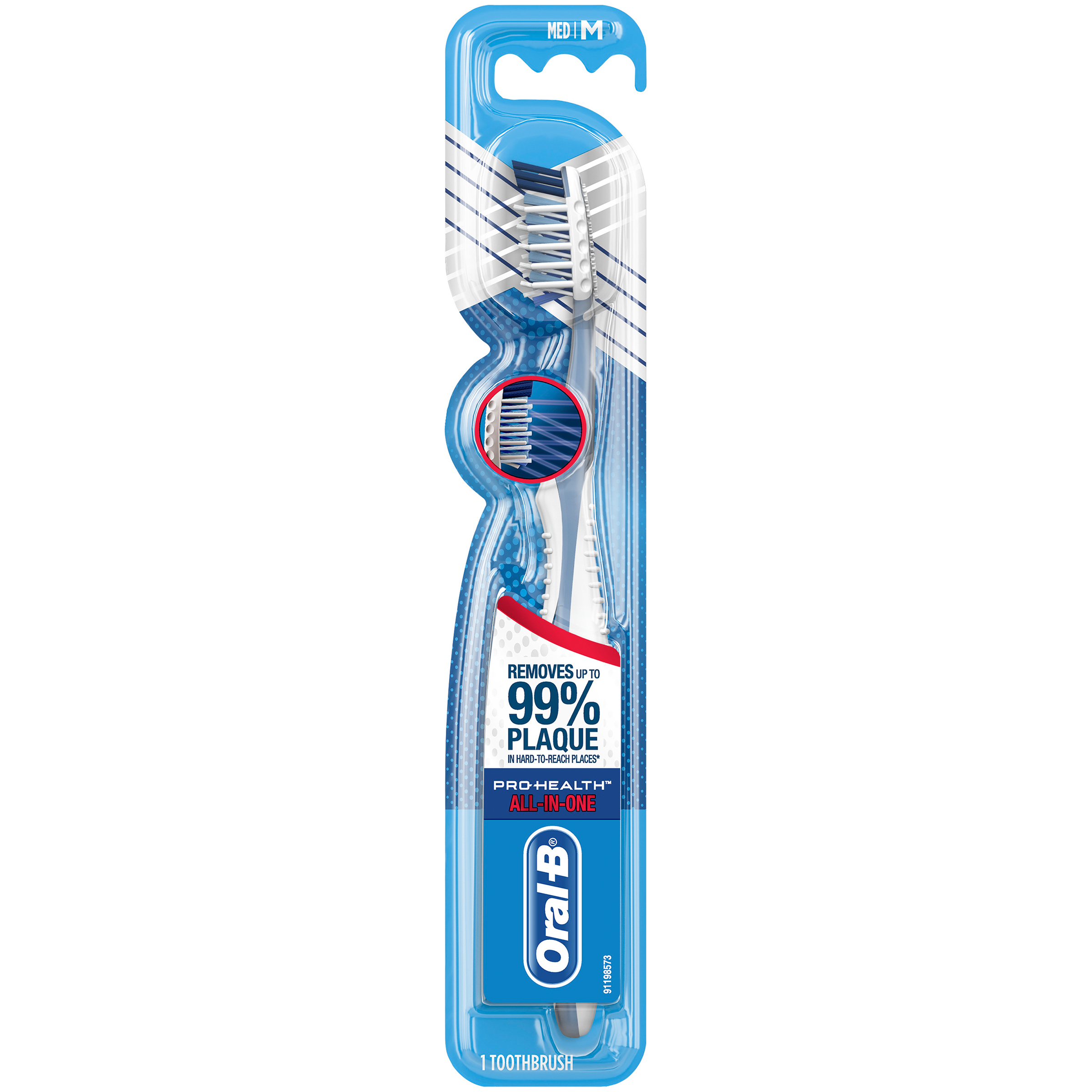 Oral-B Pro-Health All-in-One Manual Toothbrush, Medium, 1 ct