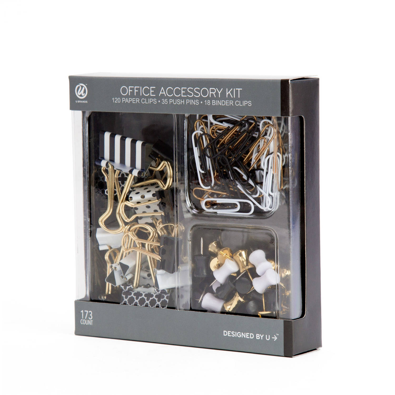 Black and White Fashion Office Accessory Value Pack