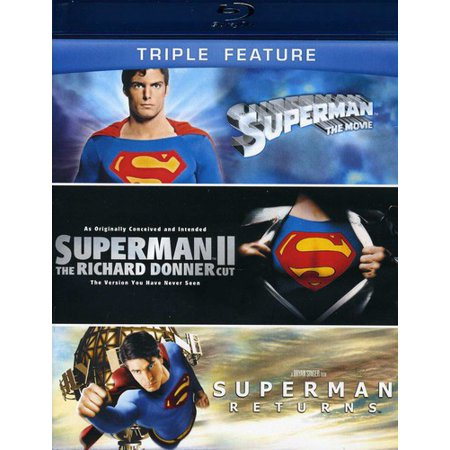 Superman  The Movie The Superman Ii  Richard Donner Cut Supermanreturns  Blu Ray