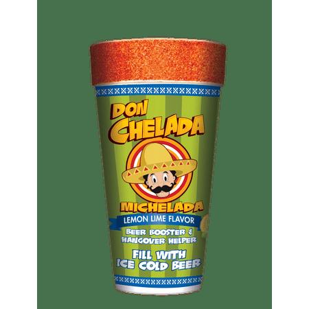 Don Chelada Lemon Lime Flavor Michelada Cup](Lemon Loves Lime Clearance)