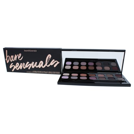 Bare Sensuals Ready Eyeshadows Palette - 14 Rose-Inspired by bareMinerals for Women - 1 Pc Palette E (Red Eyeshadow Tutorial)