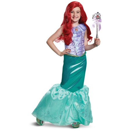 The Little Mermaid Ariel Deluxe Toddler - Ariel Little Mermaid Costume For Adults