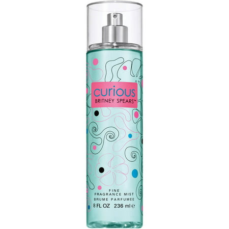 Britney Spears Curious Fine Fragrance Mist, 8 fl (Women's Fragrances Best Sellers)