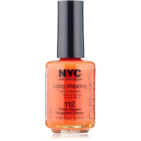 NYC New York Color Long-Wearing Nail Enamel, 112A Times Square ...