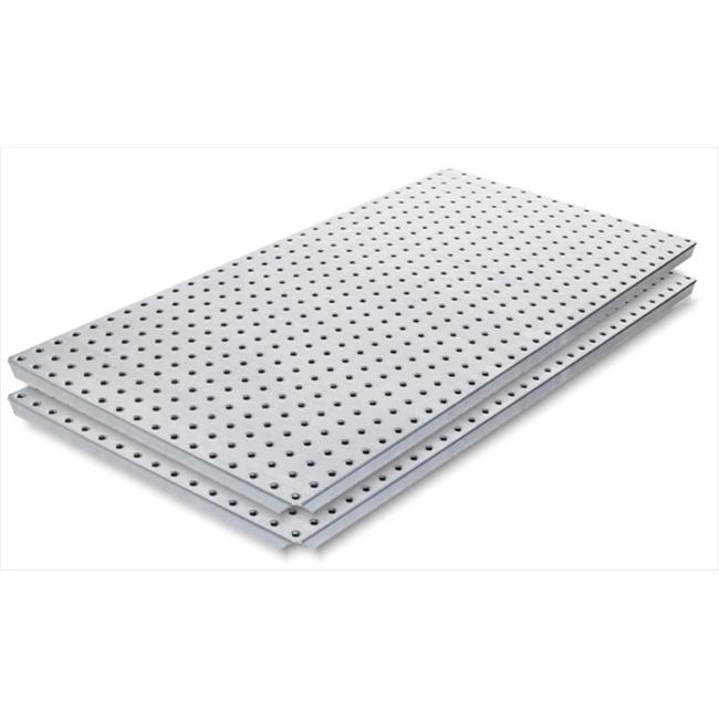 Alligator Board ALGBRD16x32STLS4 400 Series Stainless Steel Panel with Flange - Pack of 2
