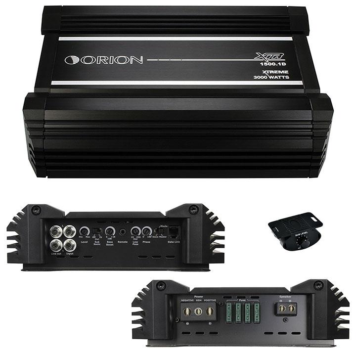 Orion XTR Amplifier D class 1 ohm 6000W Max