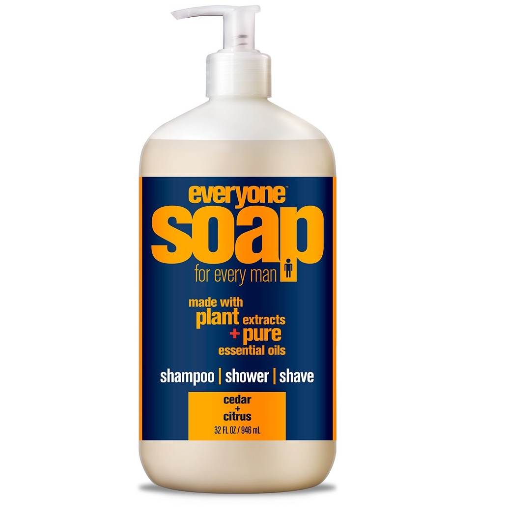 Everyone 3-in-1 Soap for Men Cedar and Citrus 32 Oz.