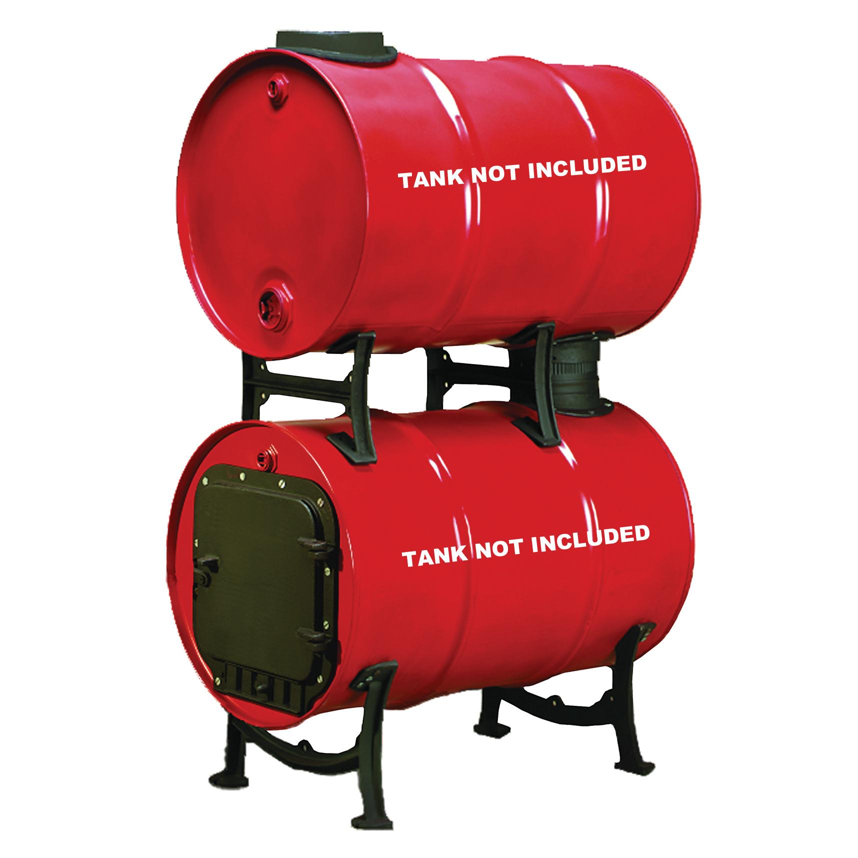 United States Stove Company BKAD500 Double Barrel Adapter Kit