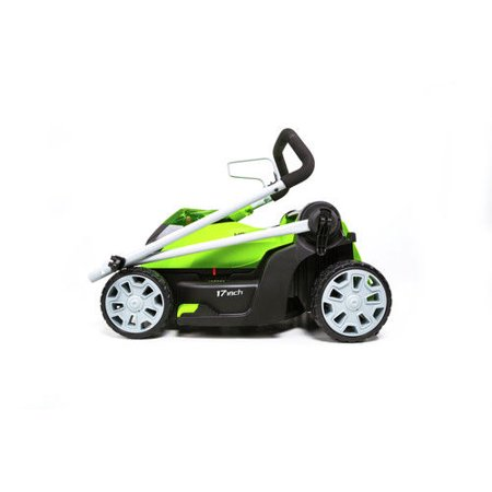 Greenworks G-MAX 40V 17 inch Brushed Mower Battery & Charger Not Included (Best Riding Mower For 5 Acres)