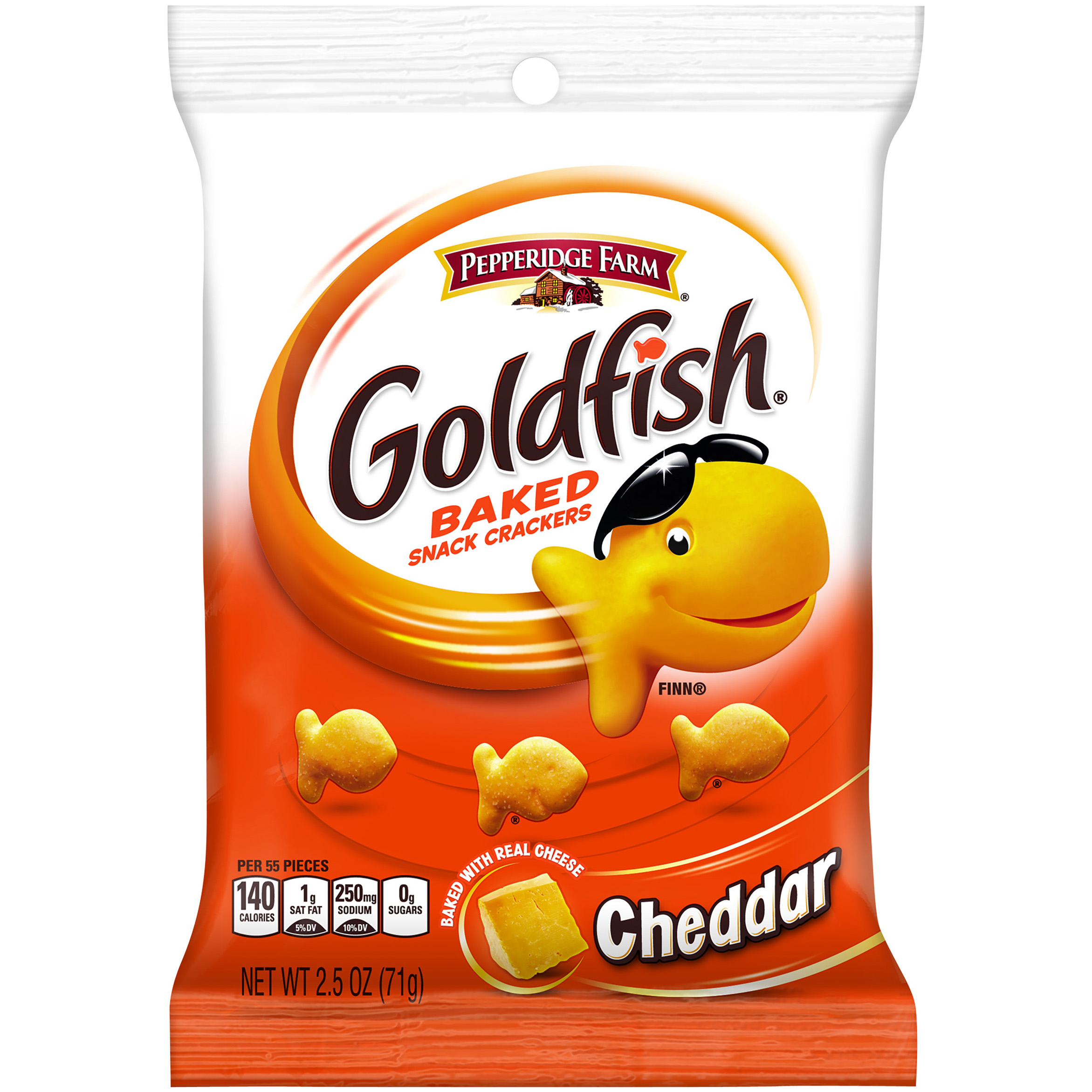 Pepperidge Farm Goldfish Baked Cheddar Snack Crackers 2.5 Oz.